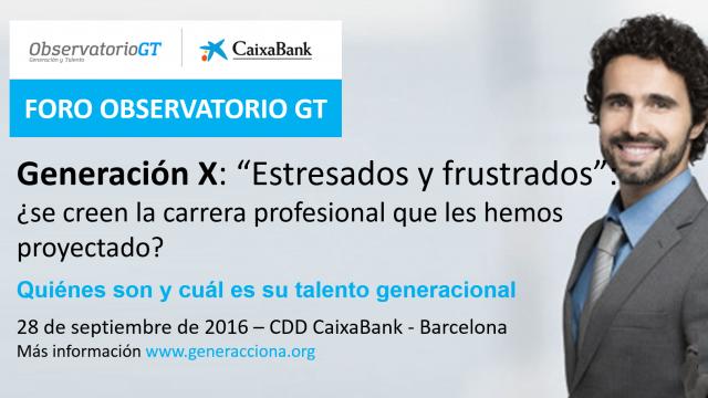 """Generación X: """"Estresados y frustrados"""", ¿se creen la carrera profesional que les hemos proyectado?"""