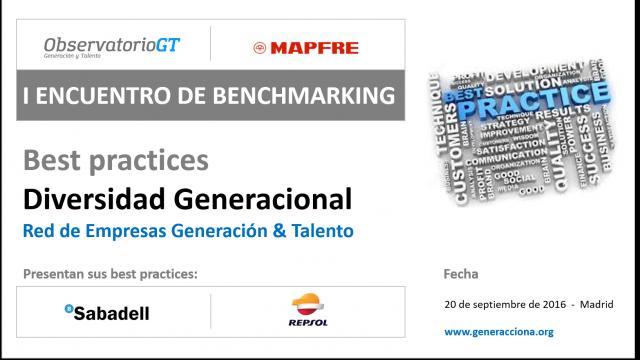 I Encuentro de benchmarking gestión diversidad generacional