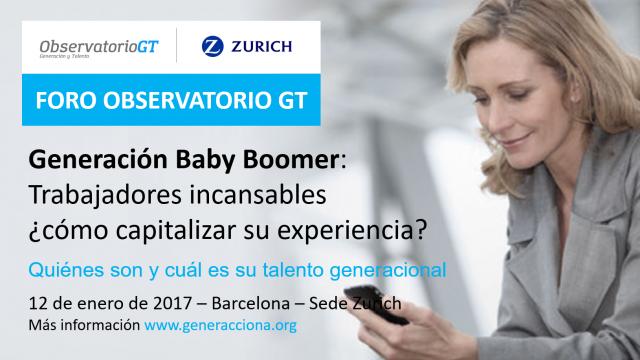 """Foro Generación Baby Boomers: """"Trabajadores incansables"""", ¿cómo capitalizar su experiencia?"""