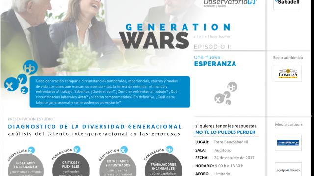 GENERATION WARS. EPISODIO I: UNA NUEVA ESPERANZA – BARCELONA
