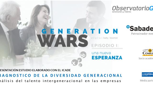 GENERATION WARS – EVENTO DEL AÑO SOBRE TALENTO GENERACIONAL – BARCELONA